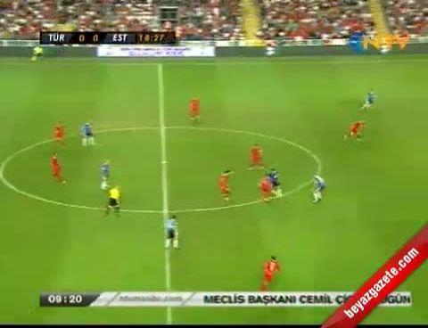 Türkiye Estonya Maçı Golleri 3-0 ( Maç Geniş Özet) 11.09.2012