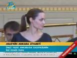 Jolıe'nin Ankara ziyareti online video izle