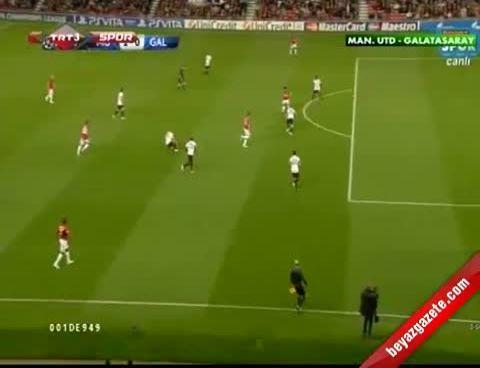 Galatasaray Manchester United: 0-1 Maçın Özeti (19.09.2012)