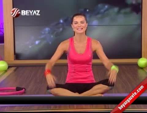 Ebru Şallı İle Pilates (Plates) - 17.09.2012 Beyaz TV