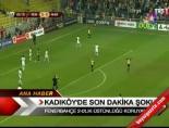 Kadıköy'de son dakika şoku