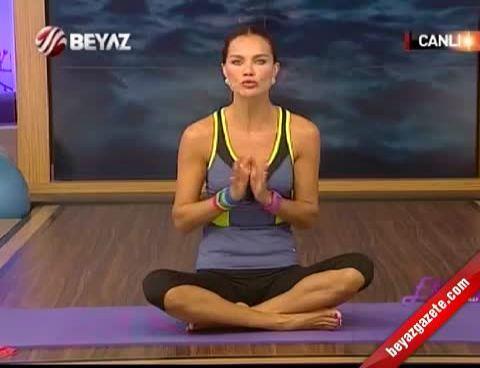 Ebru Şallı İle Pilates (Plates)  - 24.09.2012 Beyaz TV