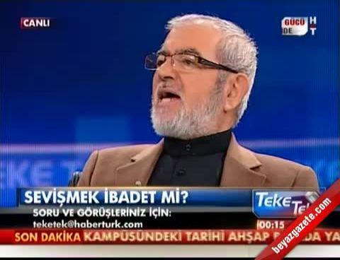 Ali Rıza Demircan: Sevişmek ibadettir (Teke Tek Fatih Altaylı)