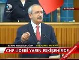 CHP Lideri yarın Eskişehir'de