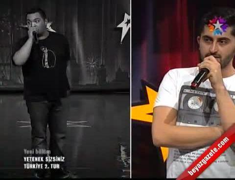 Yetenek Sizsiniz Türkiye'de Nefes Kesen Düello (Serkan İle Serdi Beatbox)