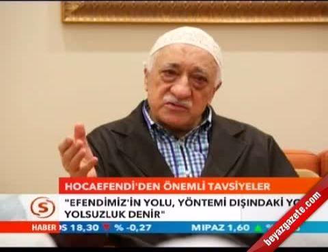 Fethullah Gülen: Beddua ve Lanet Yerine Dua