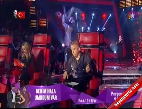 """O Ses Türkiye - Bade Kaynar Dedemen """"Esmer Günler"""" Performansı"""