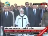 Başbakan Erdoğan, Mesut Barzani Saygı Duruşunda Bulundu