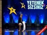 Yetenek Sizsiniz Türkiye - Çetin Çetintaş ve Boncuk Bıçakçı'dan 'Akrobasi Dans'