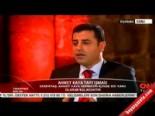 Selahattin Demirtaş: 'Gezi'de direnenler Ahmet Kaya'nın arkadaşlarıydı'
