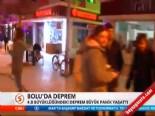 Bolu'da 4,8 Büyüklüğünde Deprem Oldu (25 Kasım 2013)