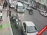 Motosiklet Tüpcüye Çarptı Yoluna Devam Etti  online video izle