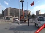 Taksim'de Yılbaşı Hazırlıkları Başladı  online video izle