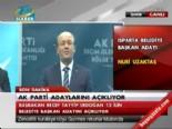 2014 AK Parti Isparta Belediye Başkan Adayı Nuri Uzaktaş