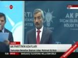2014 AK Parti Osmaniye Belediye Başkan Adayı Mehmet Gürbüz