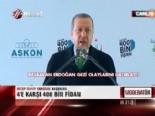 Erdoğan: 4e Karşı 400 Bin Fidan