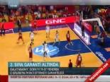 Galatasaray - Zielona Gora: 76-57 Basketbol Maç Özeti