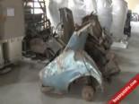 İşte Uğur Mumcu'nun Suikastta Parçalanan Otomobili