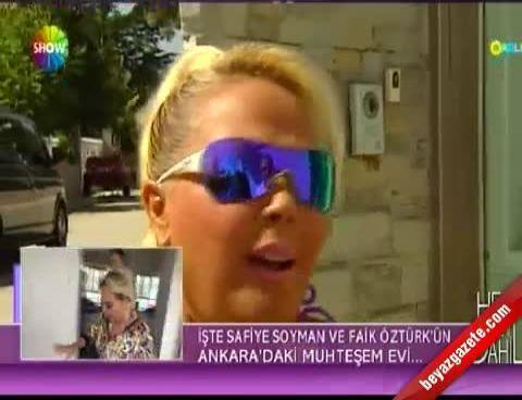 Her Şey Dahil - Safiye Soyman ve Faik Öztürk'ün Ankara'daki saray yavrusu