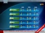 İl İl Yurt Genelinde Hava Durumu