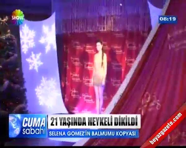 Selena Gomez'in 21 Yaşında Bal Mumu Heykeli Dikildi