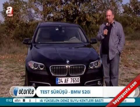 BMW 520i Test Sürüşü