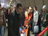Taksim Metrosu'nda Kanlı Tartışma
