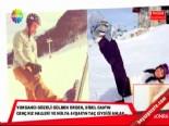 Ebru Şallı Ve Sinan Akçıl'ın Kayak Kaçamağı