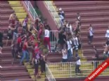Brezilya Lig'inde Kan Donduran Görüntüler (A.Paranaense-Vasco de Gama)