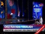 Yetenek Sizsiniz Türkiye'de Tekin Doğan Oku Havada Yakaladı
