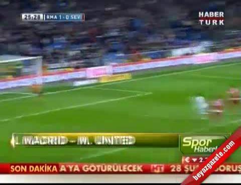 Real Madrid Manchester United: 1-1 Maç Özeti