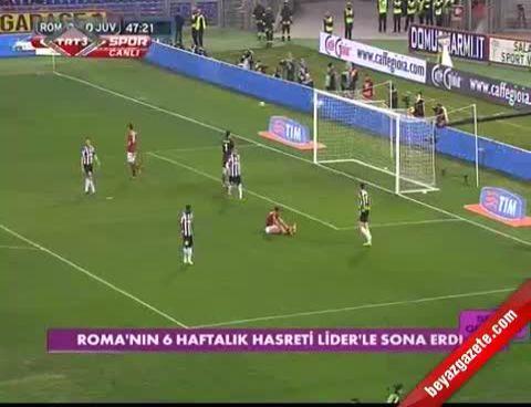 Roma - Juventus: 1-0 Maçın Özeti