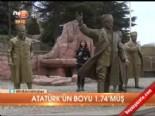 Atatürk'ün boyu 1.74'müş  online video izle