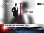 Atatürk'ün boyu açıklandı  online video izle