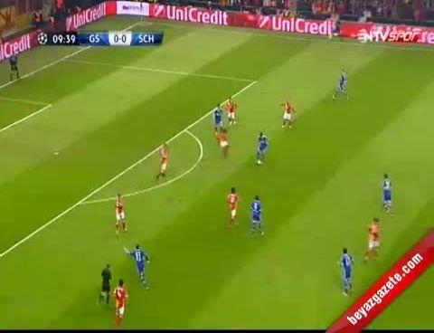 Galatasaray: 1 Schalke 04: 1 Maçın Geniş Özeti Ve Golleri