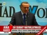 Erdoğan 'Millet yarasa denen birini başbakan yaptı'  izle