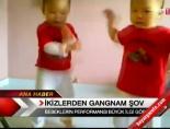 İkizlerden Gangnam şov!