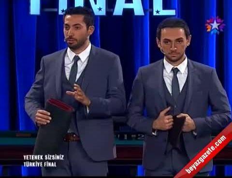 Yetenek Sizsiniz Türkiye Burak Ve Kıvançtan İlizyon Final Gösterisi