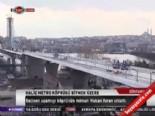 Haliç metro köprüsü bitmek üzere
