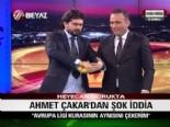 Ahmet Çakar'ın kura çekimi İspanya gazetesine haber oldu