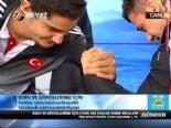 Avrupa Şampiyonu Güreşcilerimiz Taha Akgül ve Rıza Kayaalp Canlı Yayında Bilek Güreşi Yaptı