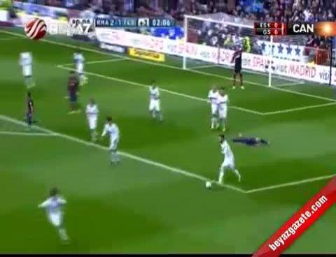 Real Madrid Barcelona: 2-1 Maç Özeti ve Golleri 2 Mart 2013