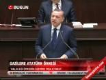 Gazilere Atatürk örneği