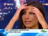 Survivor 2013 Ünlüler Gönüllüler - Emel Canlı Yayında Gözyaşlarına Hakim Olamadı İzle