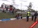Erzurum Cemal Gürsel Kavşağı'nda Trafik Kazası