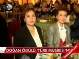 Doğan ödülü 'Türk Musikisi'ne