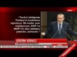 Başbakan Erdoğan: Ne CHP Ne de MHP, AK Parti'nin eline su dökemez