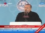 Başbakan Erdoğan Arif Nihat Asya'nın Duasını Okudu