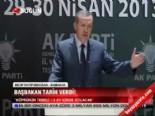 Başbakan tarih verdi  online video izle
