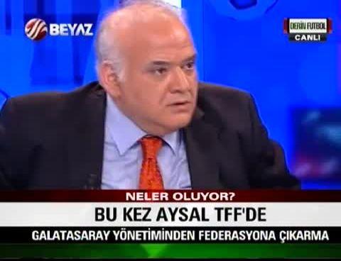 Beyaz Futbol - Ahmet Çakar, Stüdyoyu Terk Etti